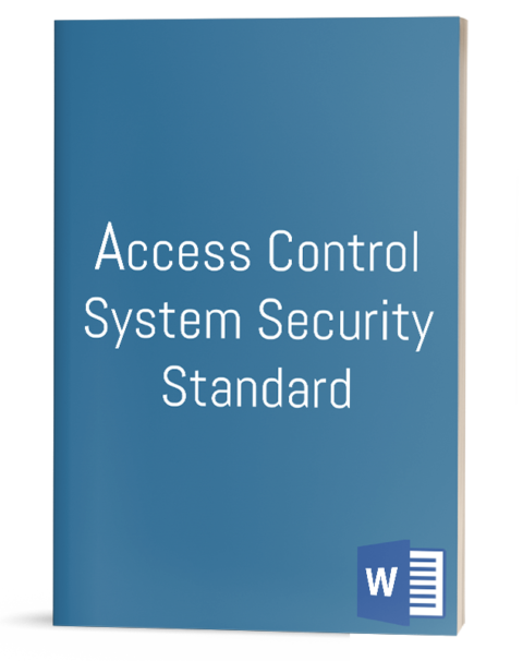 Access Control System Security Standard