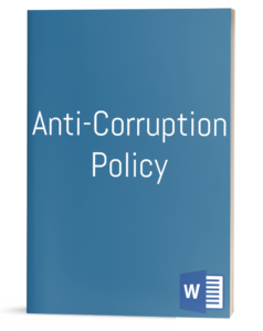 Anti-Corruption Policy