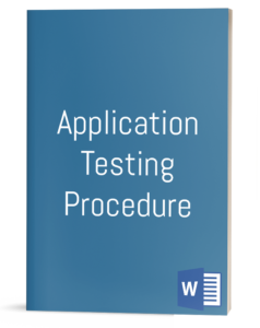 Application Testing Procedure