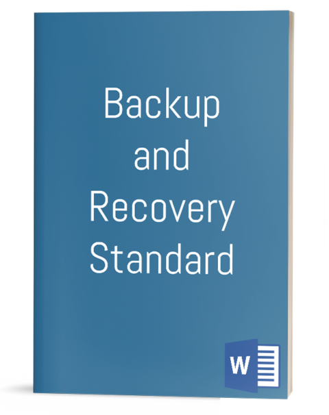 Backup and Recovery Standard