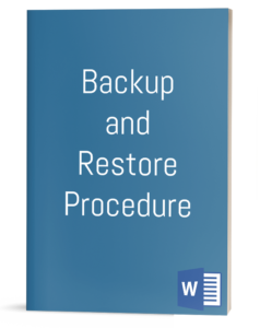 Backup and Restore Procedure