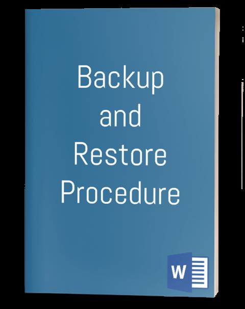 Backup and Restore Procedure