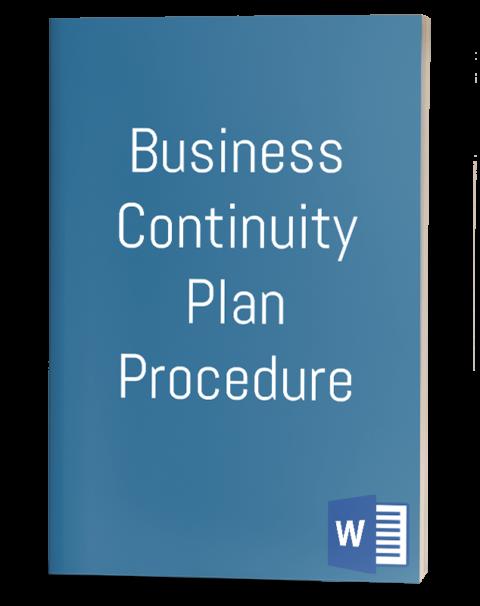 Business Continuity Plan Procedure