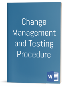 Change Management and Testing Procedure