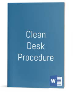 Clean Desk Procedure