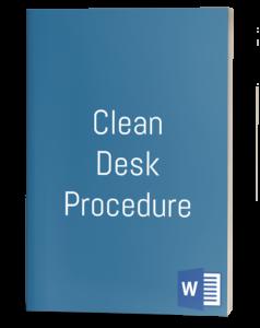 Clean Desk Procedure