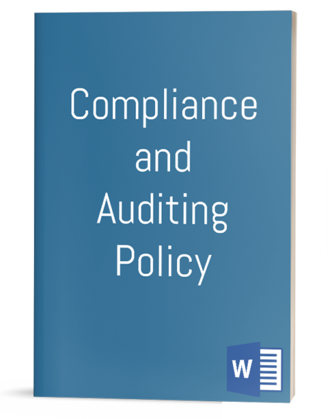 Compliance and Auditing Policy