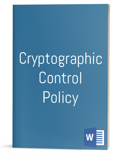 Cryptographic Control Policy