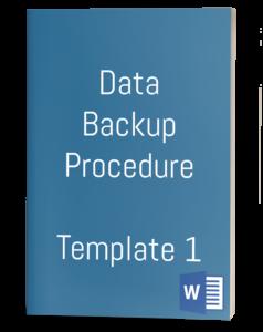 Data Backup Procedure Template