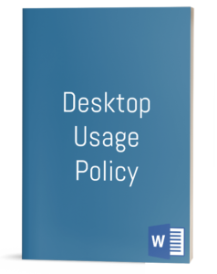 Desktop Usage Policy