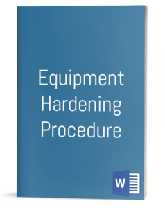 Equipment Hardening Procedure