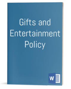 Gifts and Entertainment Policy