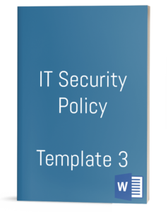 IT Security Policy - Template