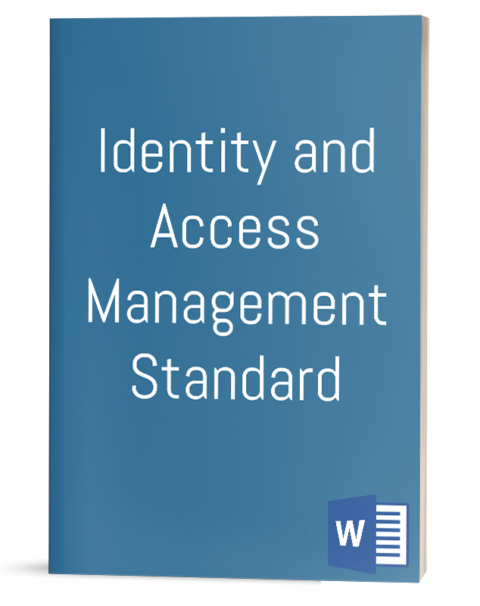 Identity and Access Management Standard