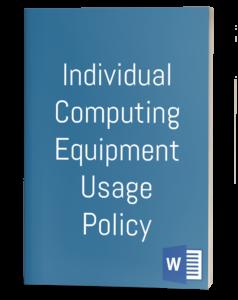 Individual Computing Equipment Usage Policy