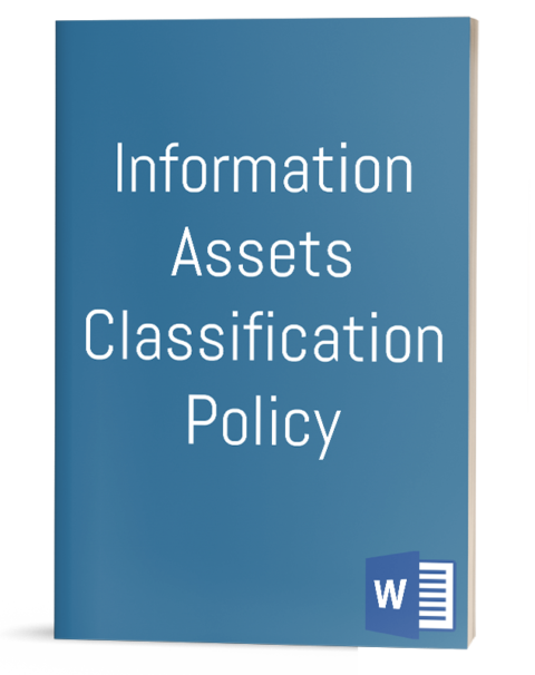 Information Assets Classification Policy