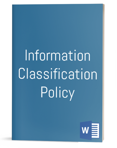 Information Classification Policy