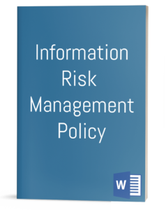 Information Risk Management Policy