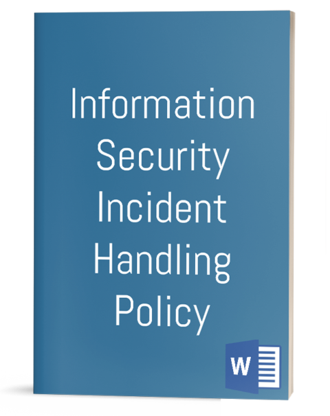 Information Security Incident Handling Policy