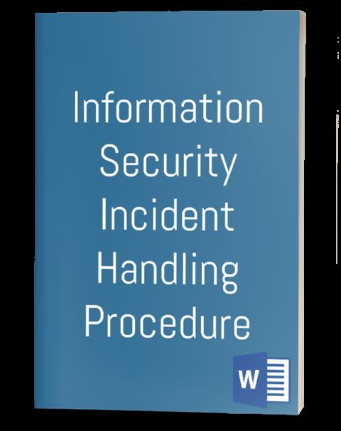 Information Security Incident Handling procedure