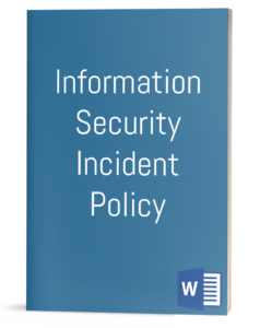 Information Security Incident Policy
