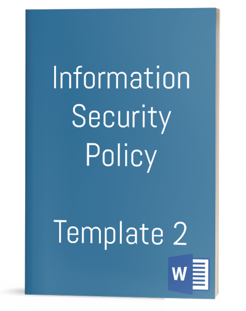 Information Security Policy - Template 2