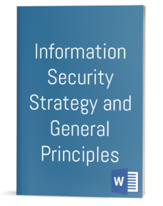 Information Security Strategy and General Principles