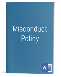 Misconduct Policy