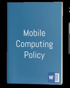Mobile Computing Policy
