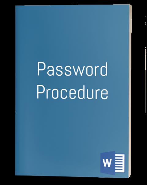 Password Procedure