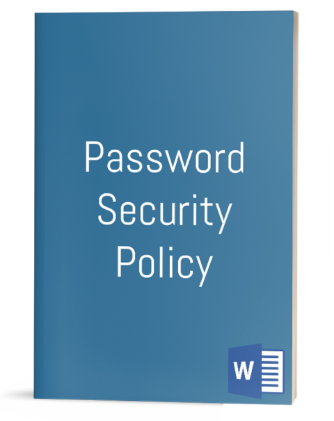 Password Security Policy