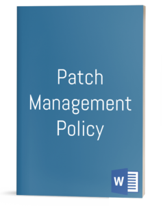 Patch Management Policy