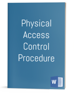 Physical Access Control Procedure