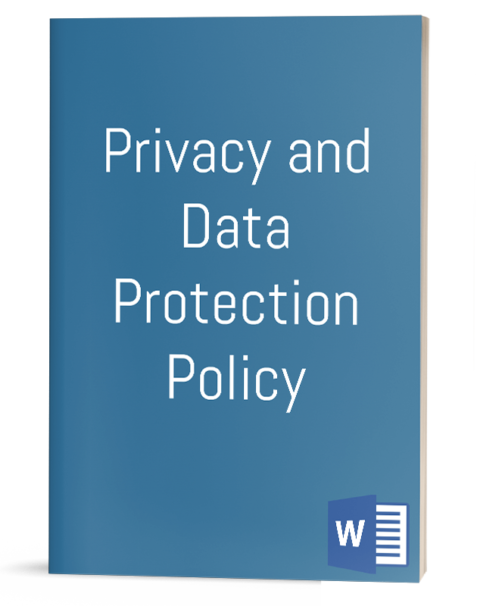Privacy and Data Protection Policy