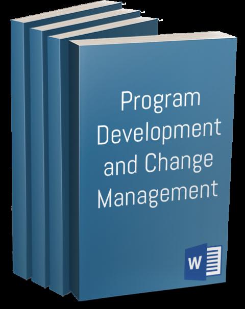 Program Development and Change Management