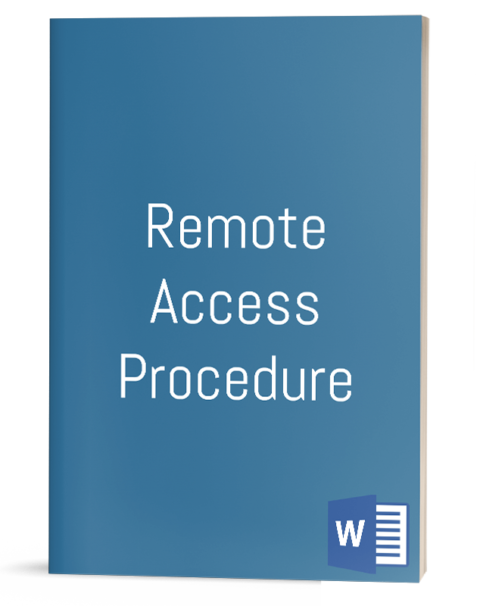 Remote Access Procedure