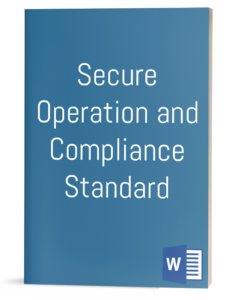 Secure Operation and Compliance Standard