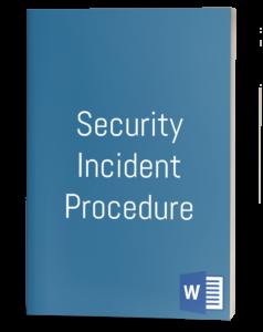 Security Incident Procedure