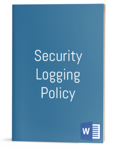 Security Logging Policy