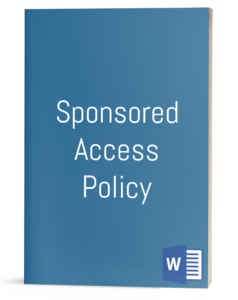 Sponsored Access Policy