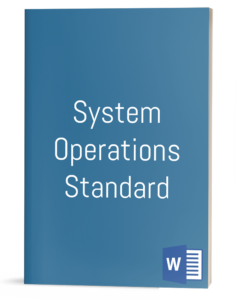 System Operations Standard