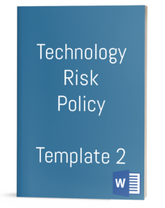 Technology Risk Policy Template