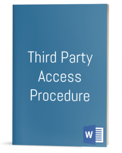 Third Party Access Procedure