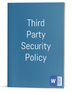 Third Party Security Policy