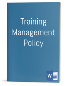 Training Management Policy