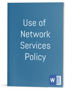 Use of Network Services Policy