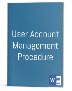 User Account Management Procedure