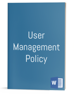 User Management Policy