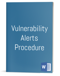Vulnerability Alerts Procedure