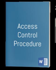 Access Control Procedure template